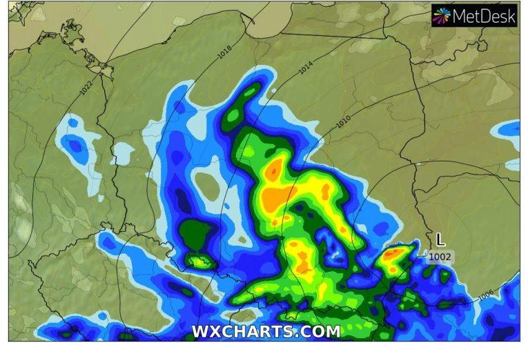 Prognoza 28-30.05 – deszcz szybko nie ustąpi