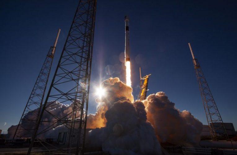 Rakieta z satelitą GPS najlepiej widoczna od nas!