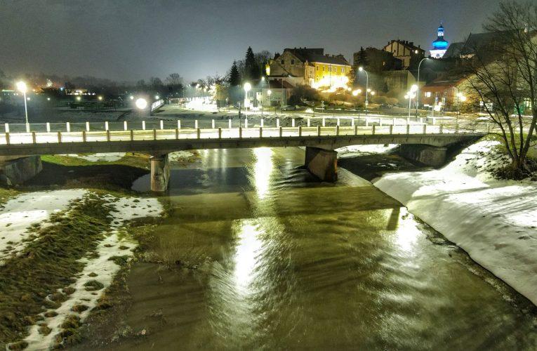 ALERT METEO – Gwałtowny wzrost poziomu wody w rzekach.